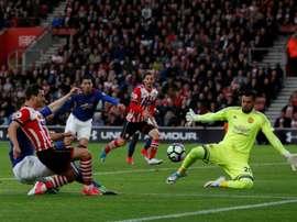Sergio Romero veut rester à United. AFP