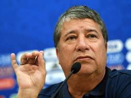 Hernan Gomez spoke out against people calling Panama the 'worst team.' AFP