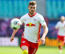 Werner explained the reason why he signed for Chelsea. AFP