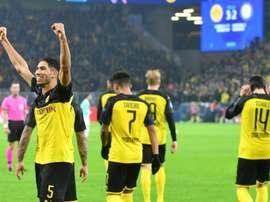 Le nouveau contrat de Dortmund avec Puma. AFP