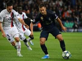 Le Real Madrid reçoit le PSG. AFP