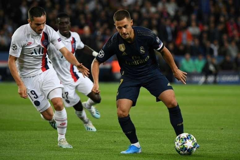 El Real Madrid-PSG y el Barcelona-Borussia, declarados de alto riesgo. AFP