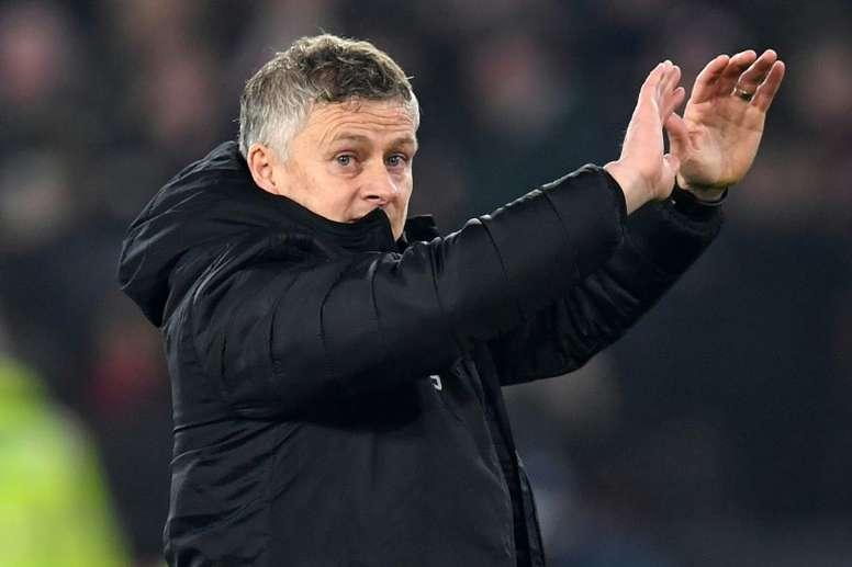 Solskjaer does not fear for his future at Man Utd despite sackings. AFP