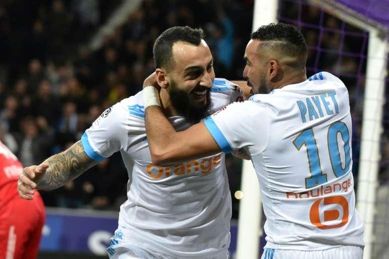 Marseille reçoit Toulouse. AFP