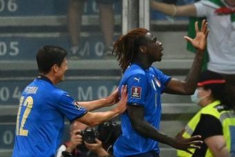 Italia sigue imparable. AFP