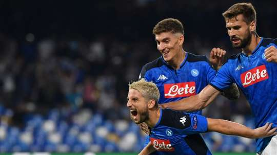 A Chinese club have put in a tempting offer for Dries Mertens. AFP