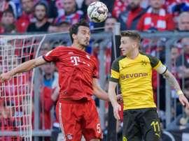 Bundesliga faz testes para voltar às competições. AFP