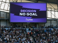Jesus saw a goal disallowed late on for a handball by Laporte. AFP
