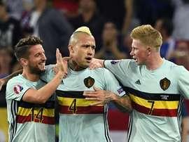 Nainggolan back in Belgium squad. AFP
