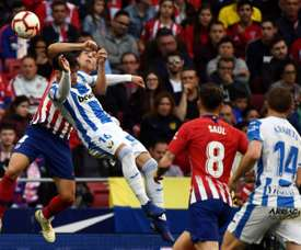 Leganes comeback never looked likely. AFP