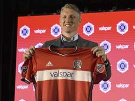 Alemão já marca na MLS. Chicago Fire