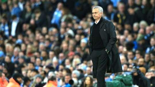 Mourinho is demanding defensive reinforcements in January. AFP