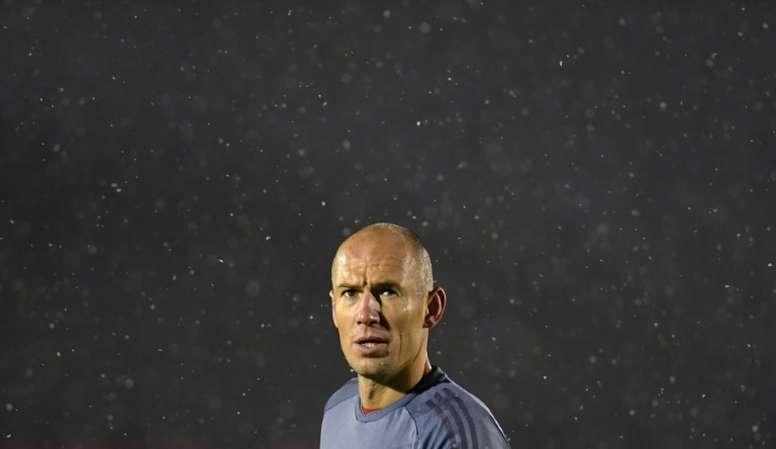 Arjen Robben may not start for Bayern in his final Bundesliga match. AFP