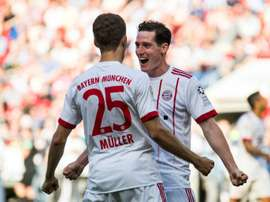 Rudy looks set to swap Bayern for Schalke. AFP