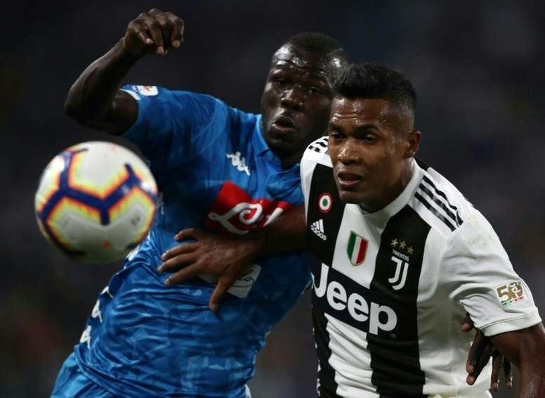 Juventus' fans were found guilty of racially abusing Koulibaly. AFP