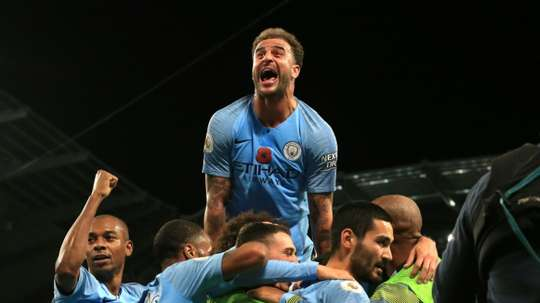 City are strong candidates to retain their title this season. AFP