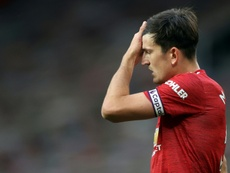 Harry Maguire has been backed by Man Utd boss Ole Gunnar Solskjaer. AFP