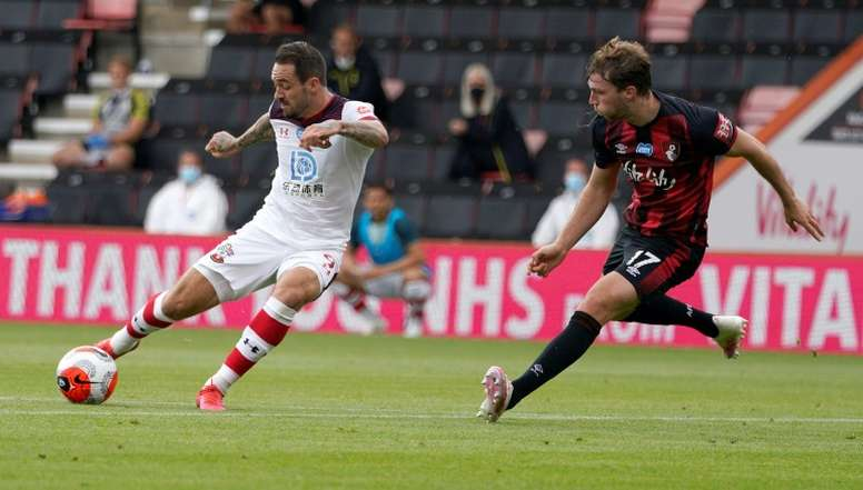 Bournemouth lost 2-0. AFP