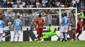 Luis Alberto salvó a la Lazio. AFP