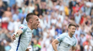 Gareth Southgate could once again call up Jamie Vardy. AFP