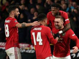 Los cuartos arrancarán con el Norwich-United. AFP