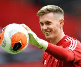 Goalkeeper Henderson aims to oust De Gea from Man Utd No.1 spot