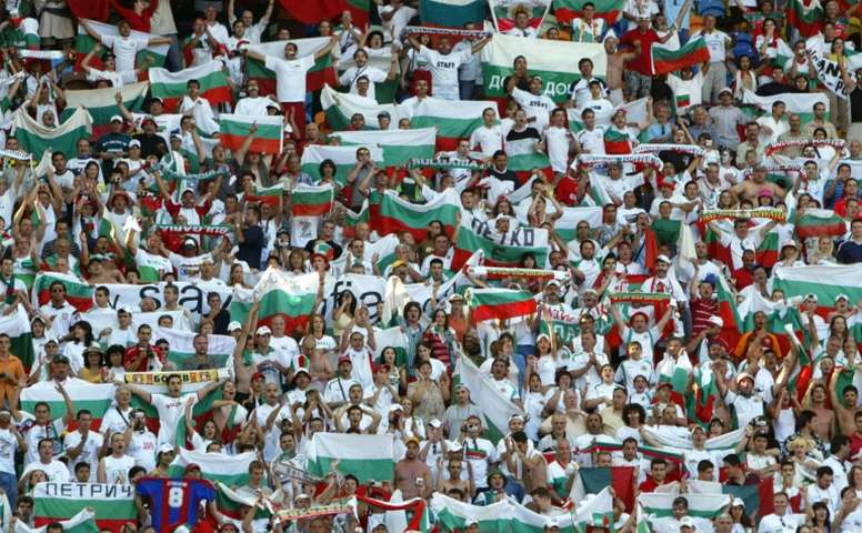 Bulgaria has a problem with hooligans. AFP