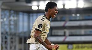 Manchester United won 2-0. AFP