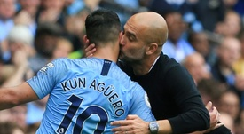 Sergio Agüero não enfrentará o Real Madrid na Champions League. AFP