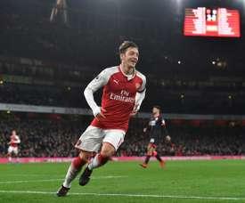 Avant d'être à ASrsenal, Özil jouait au Real Madrid. EFE
