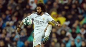 Marcelo compte bien rester au Real Madrid. AFP