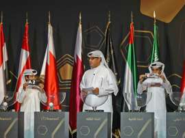 The Gulf of Nations draw took place on Monday. AFP