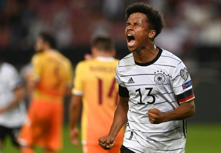 Adeyemi se lució en el escaparate de la Champions. AFP