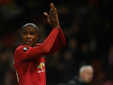 Ighalo is delighted his loan deal at Man Utd has been extended. AFP