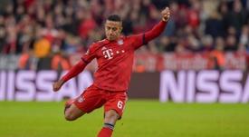 Thiago medita retirarse en el Bayern. AFP