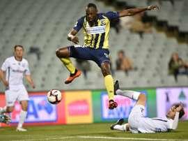 Bolt representando a Jamaica mais uma vez? AFP