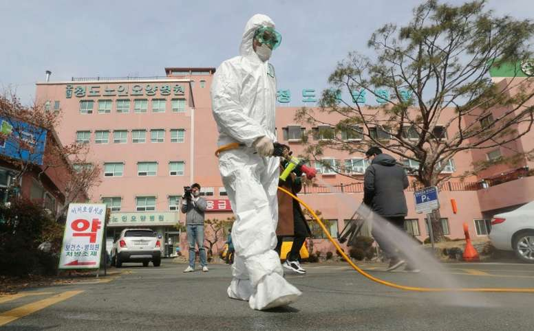 South Korea postpones football season as virus cases soar