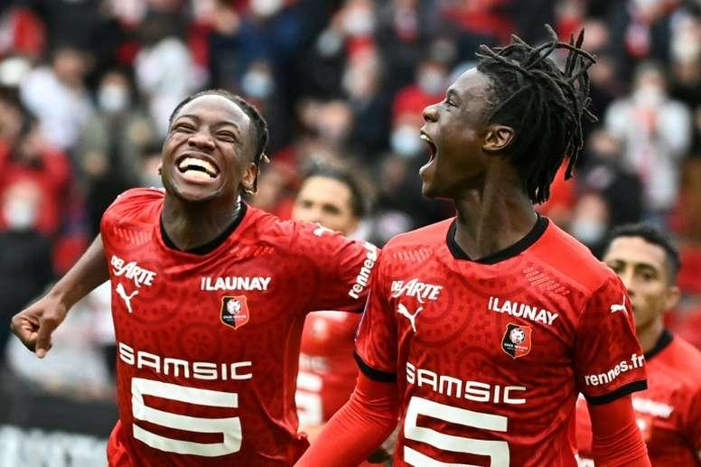 Le Stade Rennais peut-il s'en sortir en Ligue des Champions ? AFP
