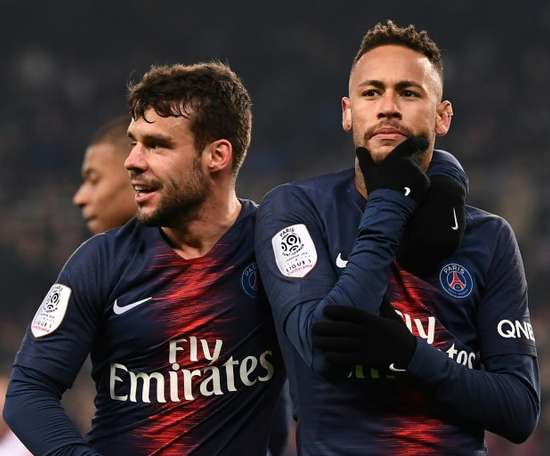 Neymar não viajou com o PSG. AFP