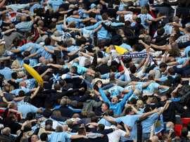 Los 'citizens' criticaron la sanción de la UEFA. AFP/Archivo