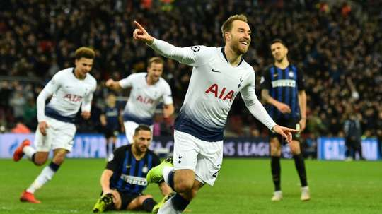 Eriksen would cost Atletico between 60 and 70 million euros. AFP