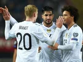 Brandt é um dos objetivos do Barça. AFP