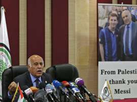 Rajoub will face action from FIFA over his comments. AFP