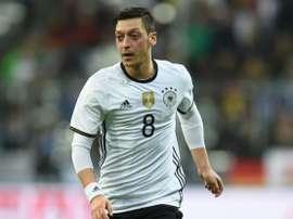 Ozil, uno de los goleadores. AFP