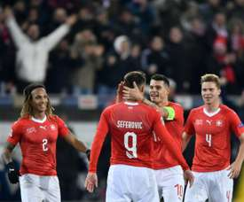 Switzerland shocked Belgium. AFP