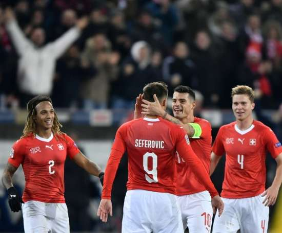 Switzerland shocked Belgium. AFP
