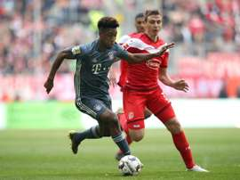 Good performance from Coman even after recent fight in training. AFP