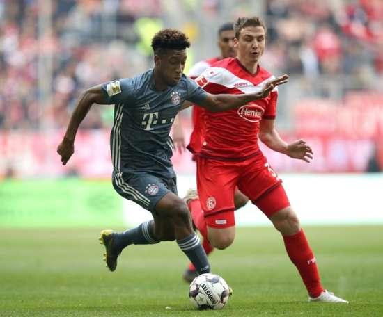 Bayern passa fácil pelo Fortuna e reassume a ponta. AFP