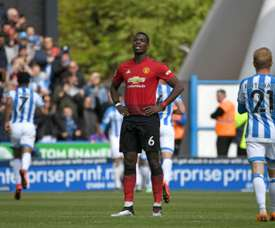 Man Utd UCL hopes ended by Huddersfield draw. AFP