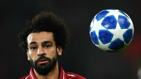 More glory for Salah. AFP